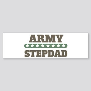 Army Stars Stepdad Bumper Sticker