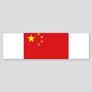 China National flag Bumper Sticker