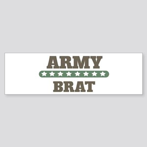 Army Stars Brat Bumper Sticker