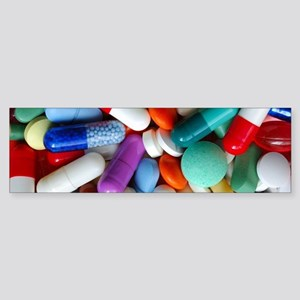 pills drugs Bumper Sticker