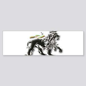 JAH LION OF JUDAH. Bumper Sticker
