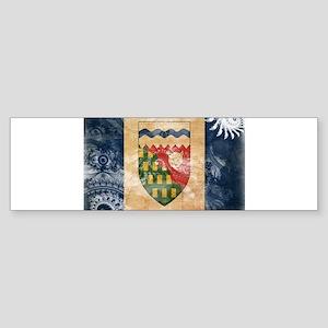 Northwest Territories Flag Sticker (Bumper)