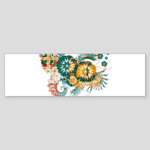 Saint Pierre and Miquelon Fla Sticker (Bumper)