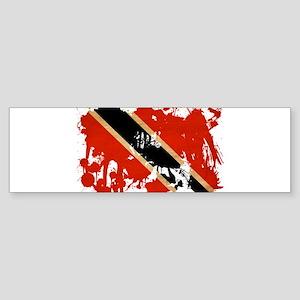 Trinidad and Tobago Flag Sticker (Bumper)