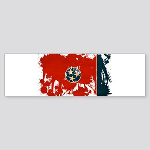 Tennessee Flag Sticker (Bumper)