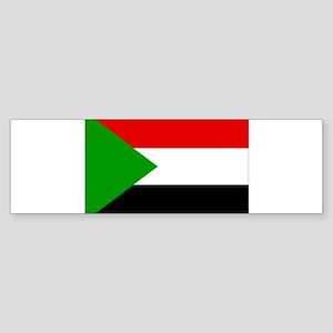 Sudan Flag Sticker (Bumper)