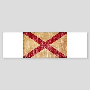 Alabama Flag Sticker (Bumper)