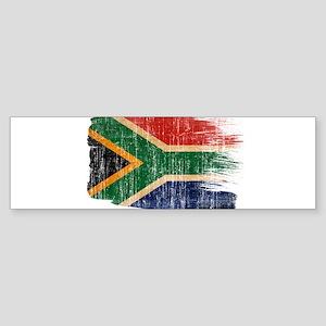 South Africa Flag Sticker (Bumper)