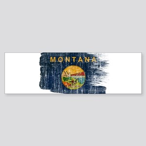 Montana Flag Sticker (Bumper)