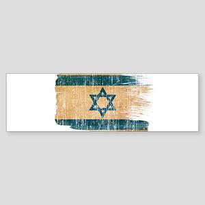 Israel Flag Sticker (Bumper)