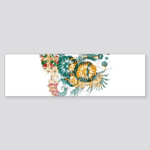 Saint Pierre and Miquelon Flag Sticker (Bumper)