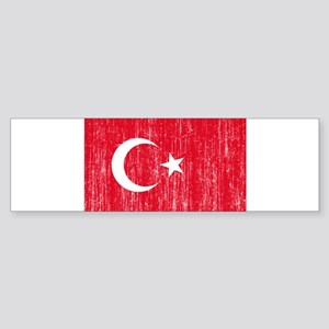 Turkey Flag Sticker (Bumper)