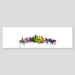 Philadelphia Pennsylvania Skyline Bumper Sticker