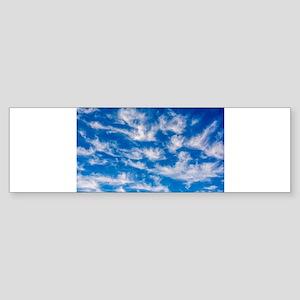 Cirrus Clouds Bumper Sticker