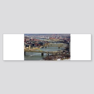 City of Bridges Bumper Sticker