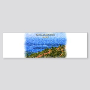 Cadillac Mountain, Maine Bumper Sticker