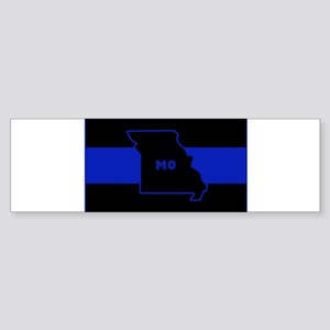 Thin Blue Line - Missouri Bumper Sticker