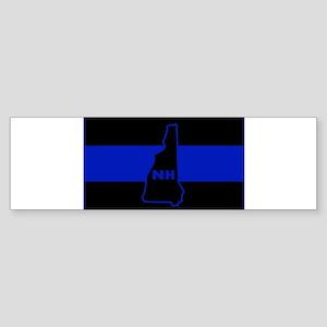 Thin Blue Line - New Hampshire Bumper Sticker