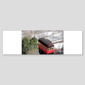 Pittsburgh Incline Bumper Sticker