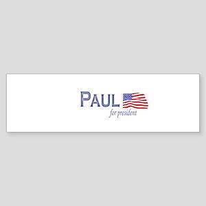 Ron Paul for president flag Bumper Sticker