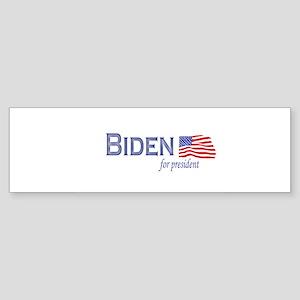 Joe Biden for president flag Bumper Sticker