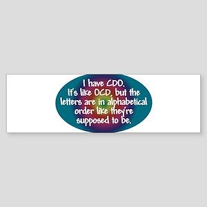 cafepress_cdo_darkspectrum Bumper Sticker