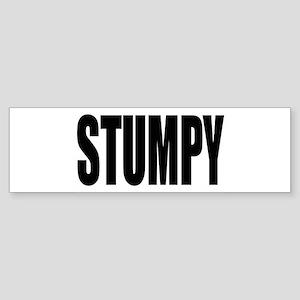 Stumpy Bumper Sticker