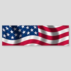 usflag Bumper Sticker