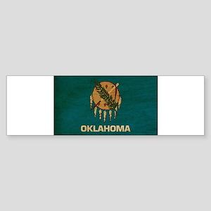 Oklahoma Flag Sticker (Bumper)