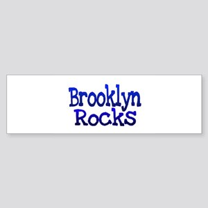 Brooklyn Rocks Bumper Sticker