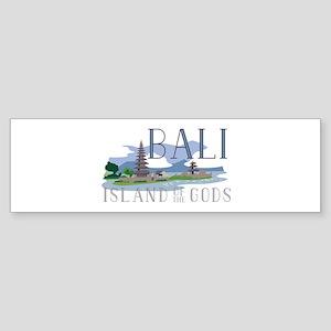 Bali Island Of Gods Bumper Sticker
