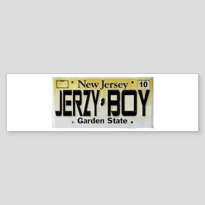 Jersey Boy Sticker (Bumper)