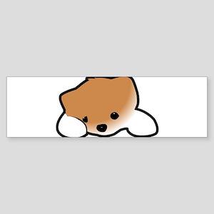 Kawaii Puppy Bumper Sticker