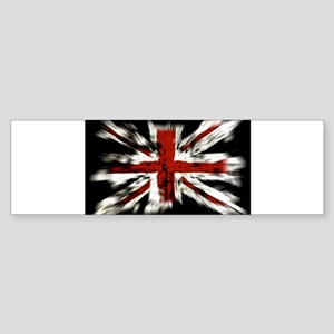 UK Flag England Bumper Sticker