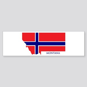 Montana Norwegian Bumper Sticker