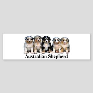 Aussie Pups Bumper Sticker