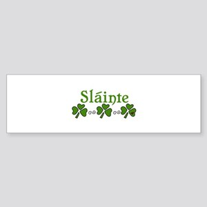 Slainte Bumper Sticker