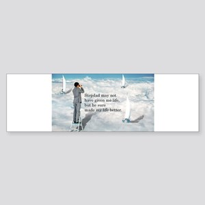 My Life Better - Postcards Sticker (Bumper)
