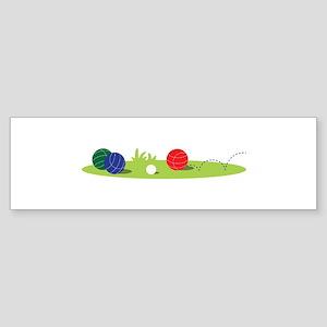 Bocce Ball Game Bumper Sticker
