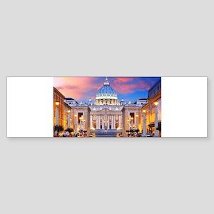 Vatican Rome Italy Bumper Sticker
