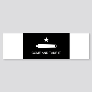 come and take it reverse Bumper Sticker