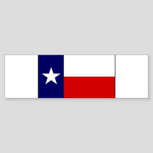 Texas Flag v3 Sticker (Bumper)