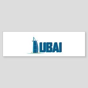 Dubai Hotel Bumper Sticker