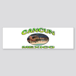 Cancun, Mexico Sticker (Bumper)