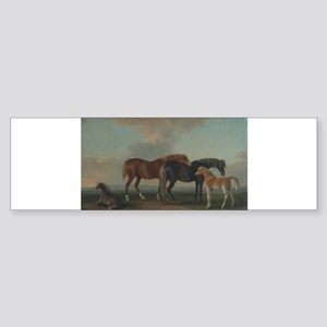 Mares and Foals Sticker (Bumper)