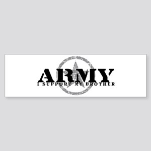 Army - I Support My Brother Bumper Sticker