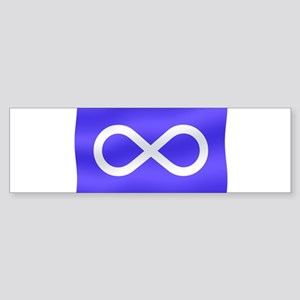 Metis Nation Flag Sticker (Bumper)