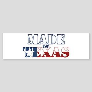 Made in Texas Sticker (Bumper)