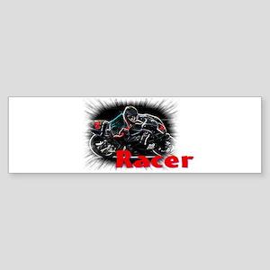 racer Sticker (Bumper)