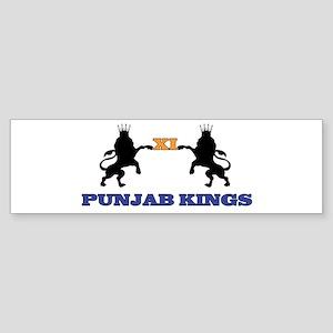 Punjab Kings 11 Bumper Sticker